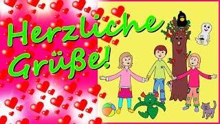 Kindertag Kinderlieder Grüße Video, Jeden Tag Ist Kindertag Mit Text, Kinderlieder Von Thomas Koppe