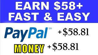 Earn $58+ PayPal Money FAST & EASY With Phone (FREE) - Worldwide (Make Money Online)