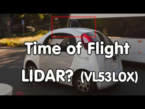 #119 Time-of-flight LIDAR with VL53L0X ?