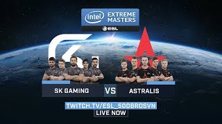 Astralis vs SK Gaming - Game 1 (Overpass) - Group Stage #1 - IEM Katowice 2018
