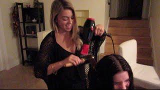 VLOGCEMBER: Trader Joes haul & at home hair salon!