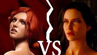 Мое мнение: Кого выбрать, Трисс или Йеннифер? / Ведьмак 3: Дикая Охота