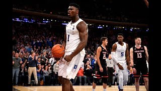 Zion Williamson: Official 2018-19 Duke Highlights - HD