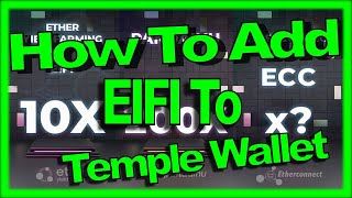 How to Add EÏFI to TempleWallet