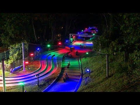 Singapore Night Luge | All 4 Tracks |