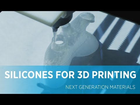 Silicone materials for next generation 3D Printing