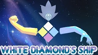 Steven Universe Theory: White Diamond's Ship Will Be A Head