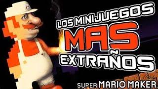 ¡LOS MINIJUEGOS MAS EXTRAÑOS! (SUPER MARIO MAKER) - DEIGAMER