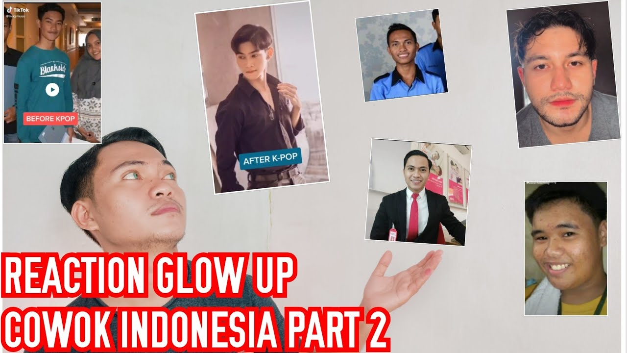 REACTION GLOW UP COWOK INDO PART 2/ Jo Kharisma/Indonesian Male Grooming