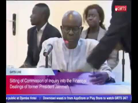 Amadou Samba (Businessman) Testifies At The Commission Of Enquiry
