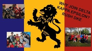 Why should you Join Delta Kappa Epsilon (RUSH DKE)?