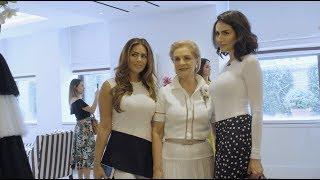 Diala Makki with Carolina Herrera NYC