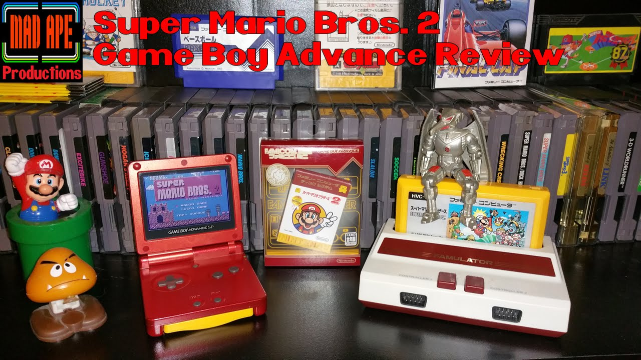 Super Mario Bros 2 The Lost Levels Review Unboxing For Game Boy