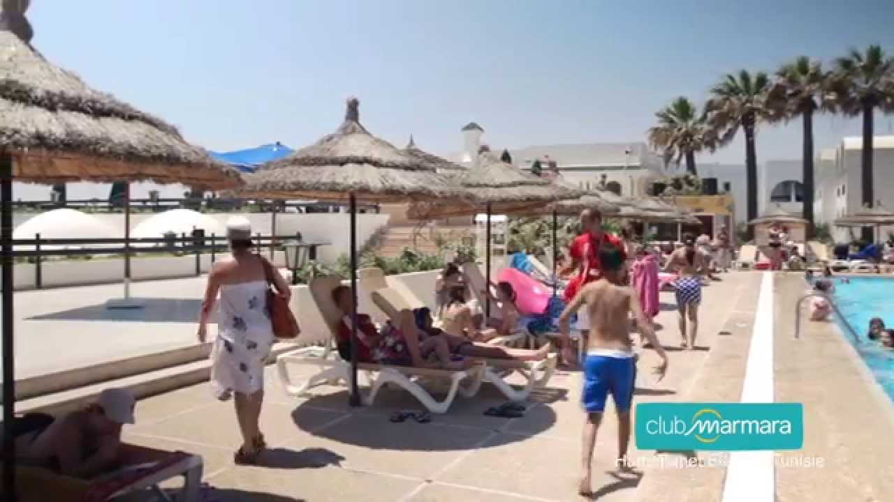 club vacances tunisie le club marmara hammamet beach 2015 youtube. Black Bedroom Furniture Sets. Home Design Ideas