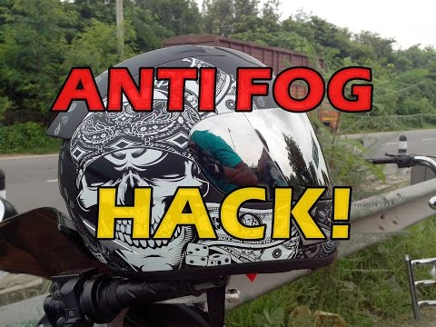 ANTI FOG Helmet Visor For CHEAP | Hack | DIYF
