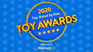 2020 Top-Rated by Kids Toy Awards