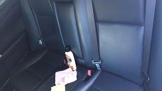 уход за кожаным салоном автомобиля чистка+кондиционер
