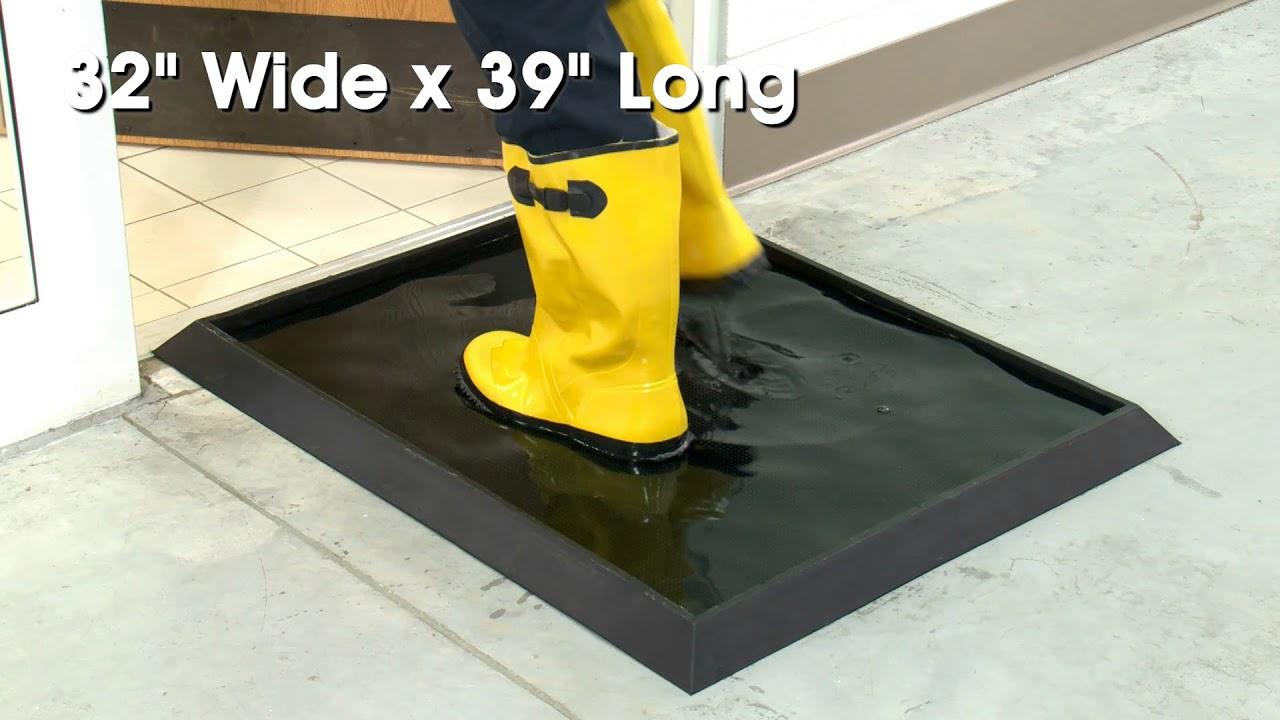 Sanitizing Footbath Mat Youtube