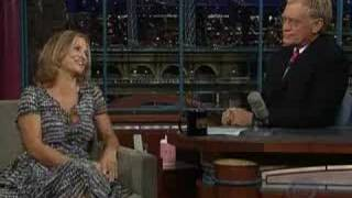 Amy Sedaris on The Late Show - October 6th, 2006 (Part 1/2)