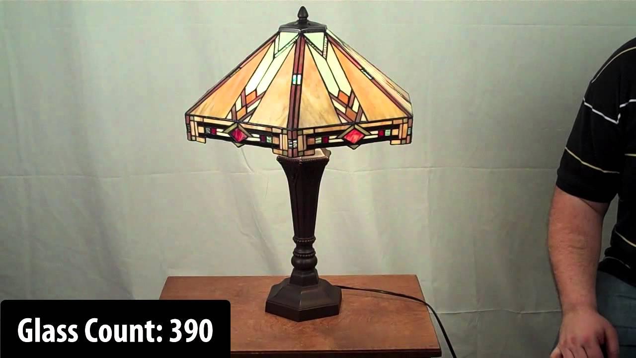 Mission Style Tiffany Lamp