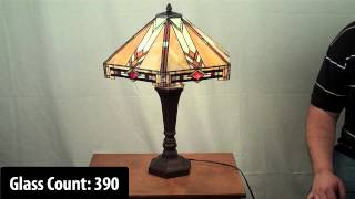 Mission Style Tiffany Lamp