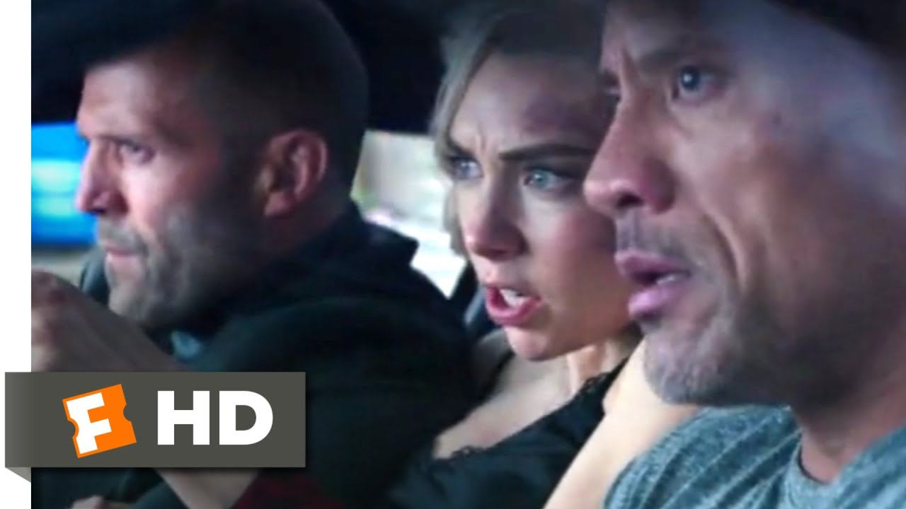 Hobbs & Shaw (2019) - Cyborg Motorcycle Chase Scene (2/10) | Movieclips