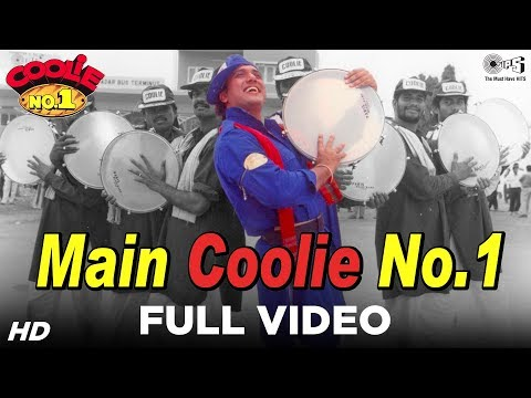 Main Coolie No 1 - Title Song -  Kumar Sanu - Govinda