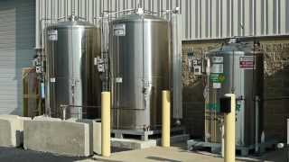 Praxair Microbulk Gas Supply Delivery System