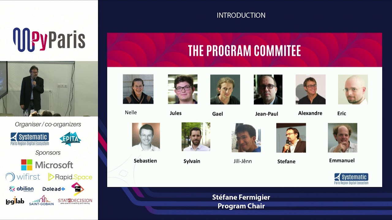 Image from PyParis 2018 - Introduction