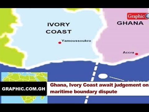 News in brief Sept 22,2017.  Ghana, Ivory Coast await judgement on maritime boundary dispute