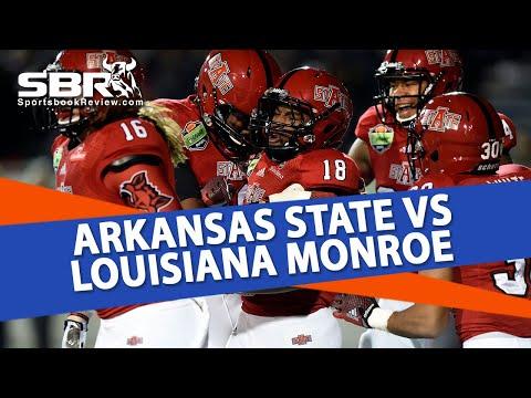 College Football Free Picks | Arkansas St vs Louisiana Monroe | Joe Gavazzi & Pete Loshak