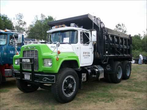 Mack dump trucks 5 youtube - Mack truck pictures ...