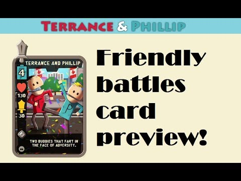 SPPD: Terrance & Phillip card preview!