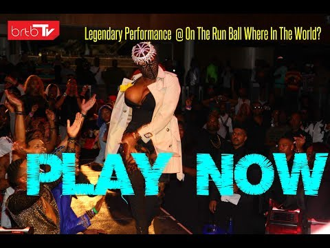 Legendary Performance  @ On The Run Ball Where In The World?