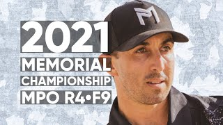 2021 Memorial • R4 • F9 • Anthony Barela • Paul McBeth • Kyle Klein • Josh Anthon • Paul Ulibarri