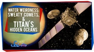 Water Weirdness: Sweaty Comets, and Titan