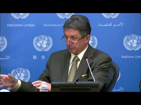 Ukraine: Yuriy Sergeyev   Press Conference   June 20, 2014