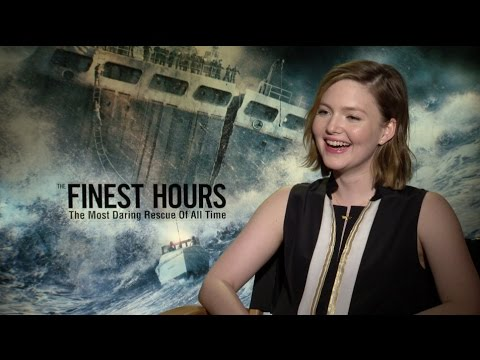 Holliday Grainger on 'The Finest Hours' and Justin Chadwick's 'Tulip Fever'