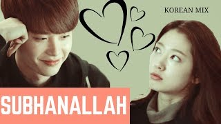 Subhanallah |Bollywood Song|  Korean Mix | Lee Jong Suk |Pinocchio|