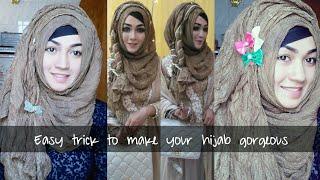 Easy Trick To Make Hijab More Gorgeous   Pari ZaaD