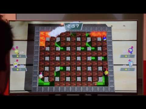 Let's Play SUPER BOMBERMAN R ★ Nintendo Switch Presse-Event 13.01.2017