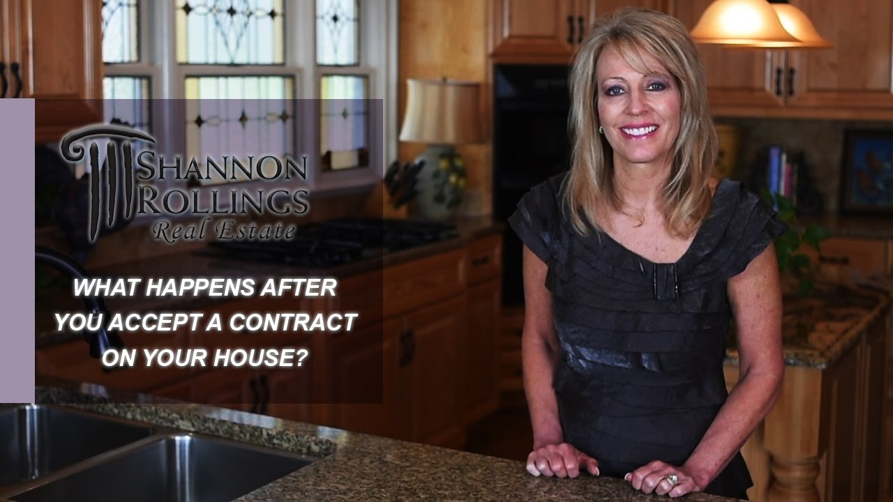 Csra Real Estate You Got A Contract On Your House What Happens Now