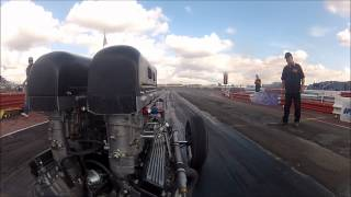 V12 Dragster Front/Engine Camera at York Raceway