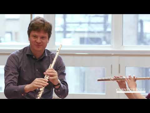 Flute Master Class with Karl-Heinz Schütz: Brahms's Symphony No. 4 in E Minor