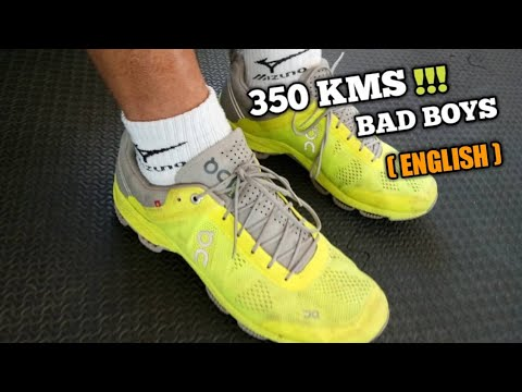 Review: ON-Cloudsurfer running shoes after 350 kms (English)