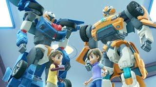 TOBOT English   107 Clash and Dash   Season 1 Full Episode   Kids Cartoon   Kids Movies