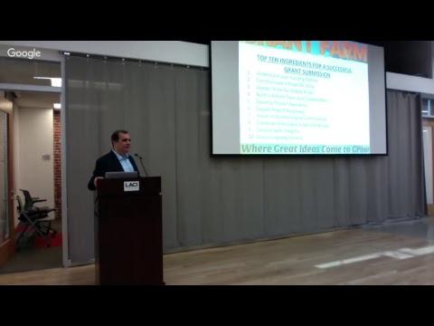 LIVESTREAM: Grant Farm: Exploring California's $4 Billion in Clean Technology Investments per Year
