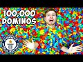 Laying The Worlds Longest Domino Line (100,000 Dominos)