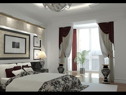Black and White Window Curtain