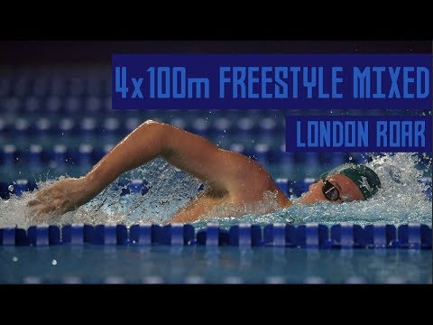 Mixed 4x100m Freestyle Relay in ISL | FULL RACE | Budapest